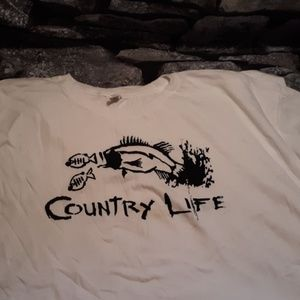 Country Life, Fishing, decal
